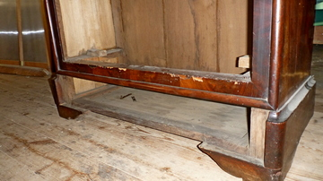 Restauration d'un secrétaire Louis Philippe en acajou à Pessac
