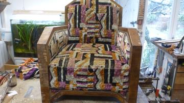 Restauration de fauteuil 1930 à Pessac